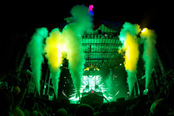 Skrillex at Bonnaroo 2012. More photos here: http://flic.kr/s/aHsjzNuoAB