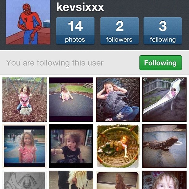 Follow my boo @kevsixxx, he doesn't post much, but he's a good little instagrammers #follow #instagram #adorable #gangsta #follower #new #sixx #boy (Taken with Instagram)