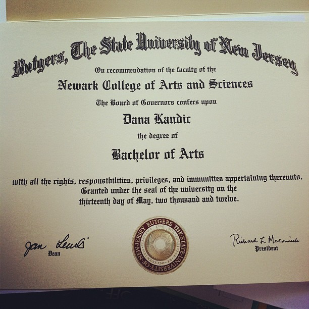 Well finally… #rutgers  (Taken with Instagram)