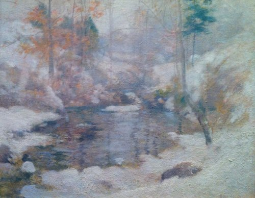Winter Harmony by John Henry Twatchman, 1890-1900