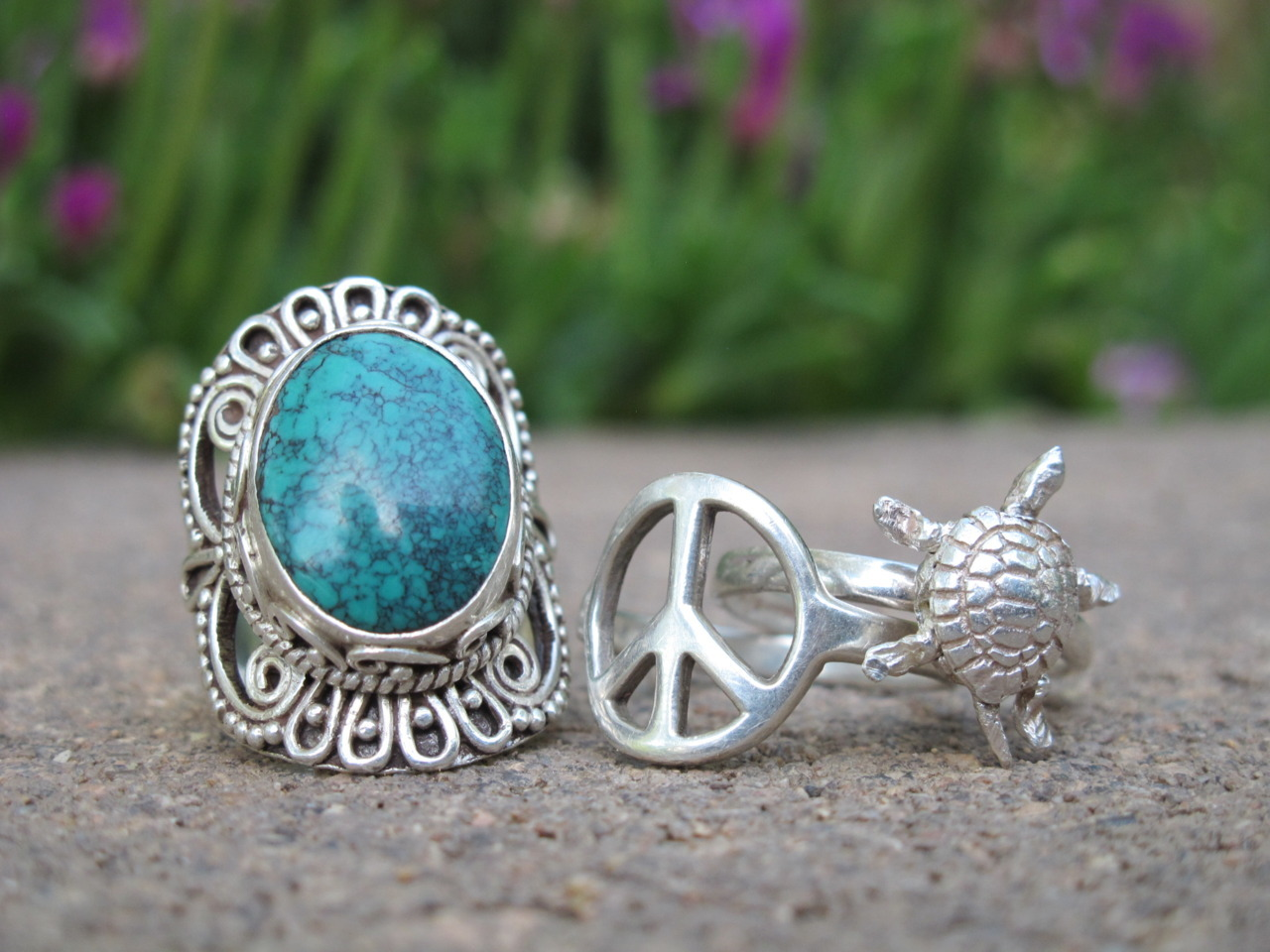 tranquility-kids:  A few of my rings :)
