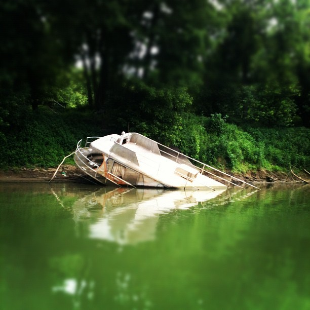 Home on the river! (Taken with Instagram)