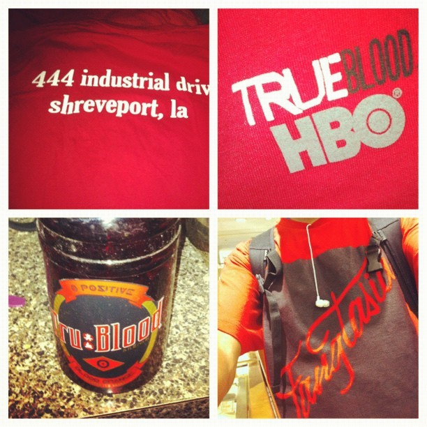 #picstitch #TrueBlood I am so Ready for Tonight!!! XD (Taken with Instagram)