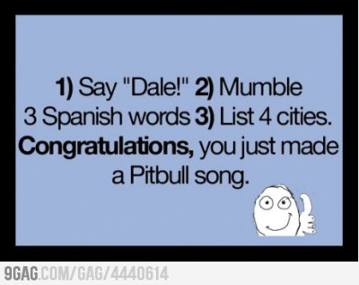 I love pitbull, but this one was kiiiinda funny!