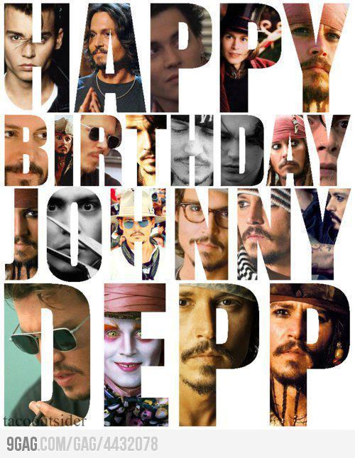 bigredheads:  HAPPY BIRTHDAY JOHNNY DEPP !