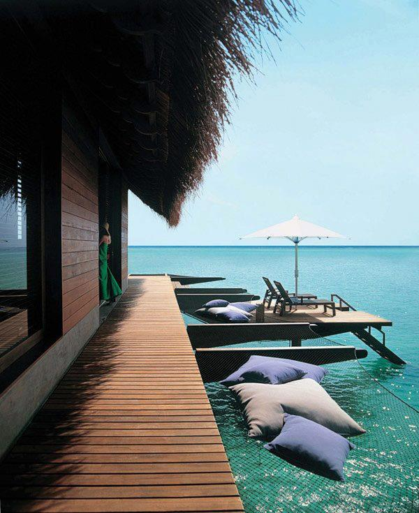 theblackworkshop:  Tropical Retreat in Maldives Reethi Rah Resort