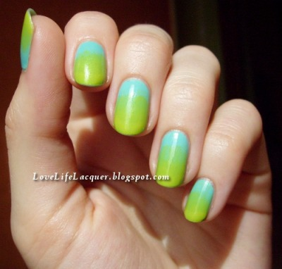 lovelifelacquer:  Another gradient! Ow yeahhh! Read more here