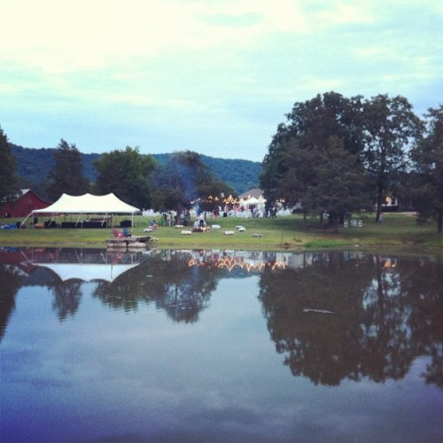 Nice pic of the family farm from cousin Anne's wedding.  (Taken with Instagram)