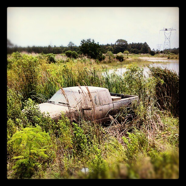 When muddin' goes wrong. #fail #photography #cars  (Taken with Instagram)