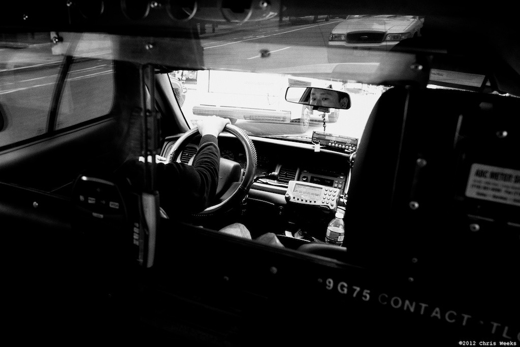 NYC, New York:  May, 2012.  His office.   Fuji X-Pro 1.  XF 18mm/F2 R.     Lightroom 4 » Silver Efex Pro 2.