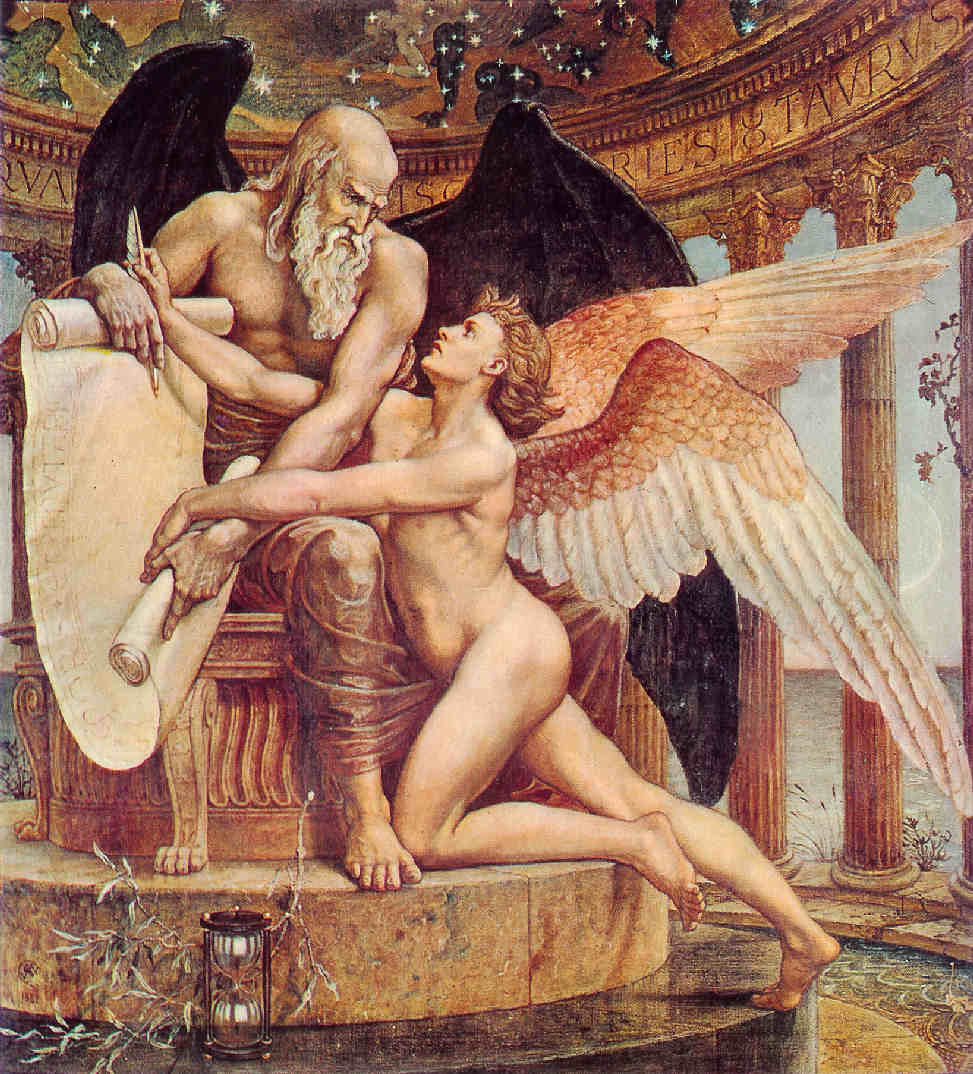 gronou:  Walter Crane (English, 1845-1915), The Wheel of Destiny