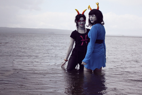 The water was cold by the way.  Meenah // Aranea // Photographer