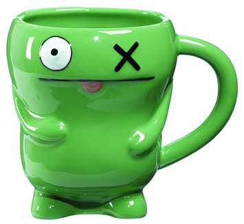 Uglydoll Ceramic Mug - OX Green