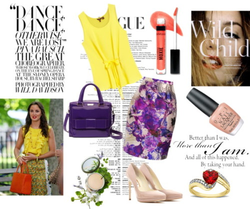 Blair Waldorf by dancing-in-destiny featuring high heel shoes