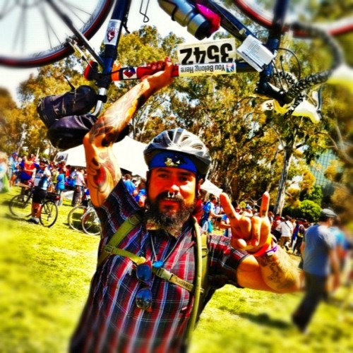 We did it!!!#alc11 #bikelove #inspirational #dreamer  and I'm doing it all over next year!  (Taken with Instagram)
