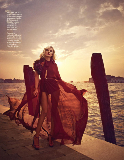 geoffreyleda:  dropdeadfuckinggorgeous: Natasha Poly by Mariano Vivanco for Vogue Spain