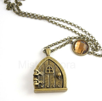 """Fairy Wish Door"" Necklace by MistyAurora"