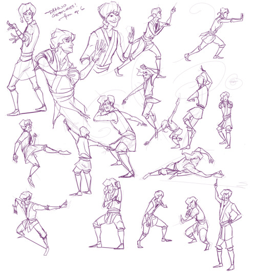 gestures done while watching.. all of them sans 2 are from the actual episode