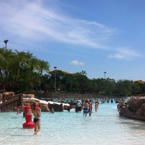 Glorious day at #disney #typhoonlagoon #nclorl2012  (Taken with Instagram at Disney's Typhoon Lagoon)