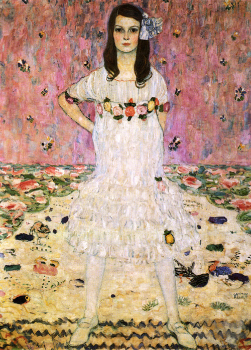 Gustav Klimt (July 14, 1862 – February 6, 1918)Mäda PrimavesiOil on canvas, 1912149.9 × 110.5 cm (59 × 43.5 in)Metropolitan Museum of Art, Manhattan, New York
