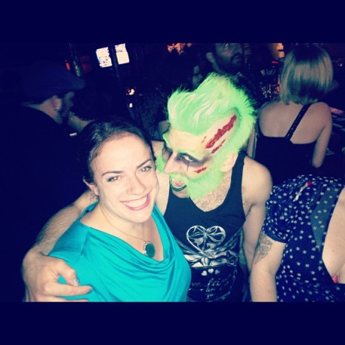 Remember that time I went to a #zombie party?  (Taken with Instagram)