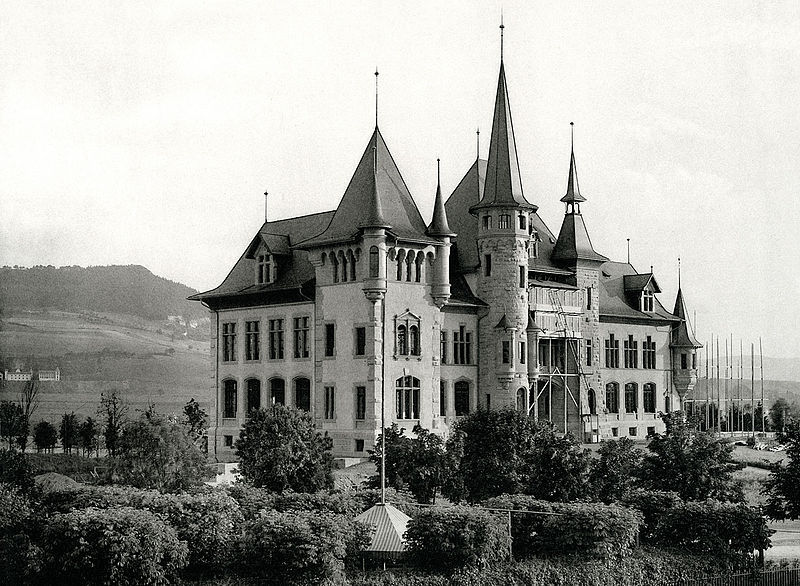 The Historisches Museum in 1895, Bern