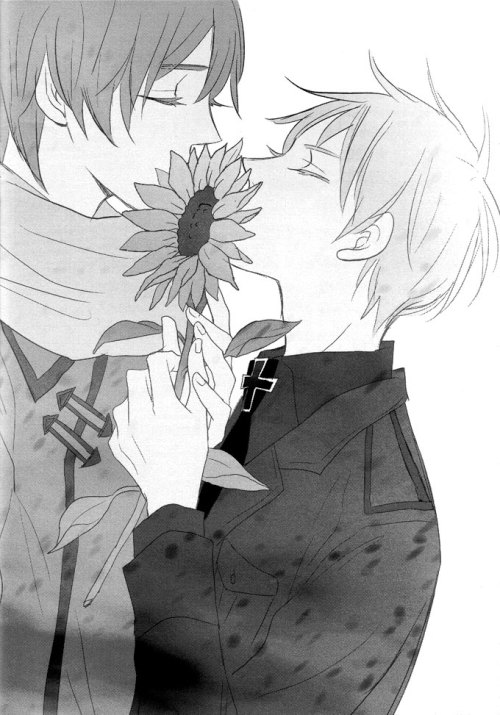 daita-hime:  Which Hetalia yaoi couple are you? Russia x PrussiaYou are Russia x Prussia! You are really in love with the other person but you don't want to seem like a wuss to them. Your both very strong characters that everyone wants to stay away from. One of you wants to marry the other, where as the other just wants to have a quite no one knows sort of relationship. :3 Fuck Yeah!!! Kesesesese~