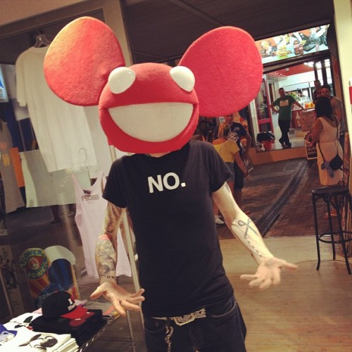 deadmau5:  Lol! Random? (Taken with Instagram)