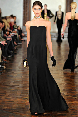 Katryn Kruger at Ralph Lauren F/W 2012-13.
