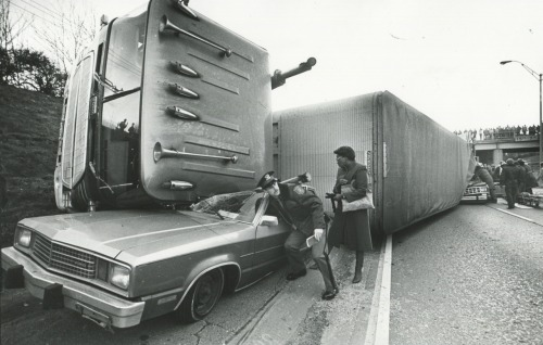 Detroit Archivist: Auto Accident Detroit 1985