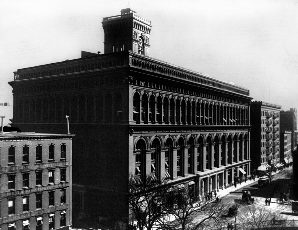 The New York City Produce Exchange in 1895, New York