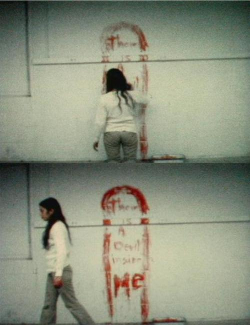 Untitled (Blood Sign #1) Ana Mendieta,1974