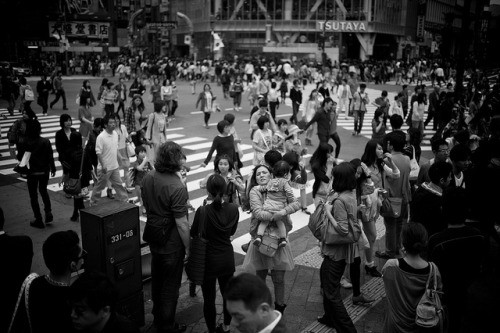 shibuya crossing by fastfoodforthought on Flickr.
