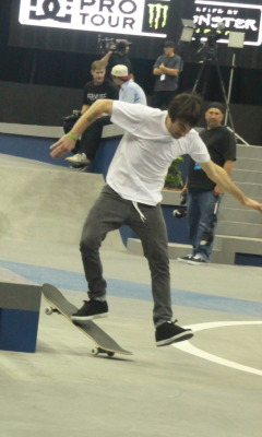 Awkward skate photo #6. Billy Marks dancing.