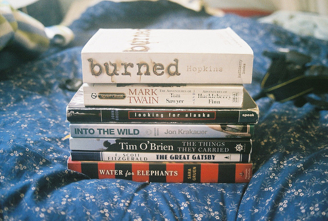 gildings:  books by llindseyl on Flickr.