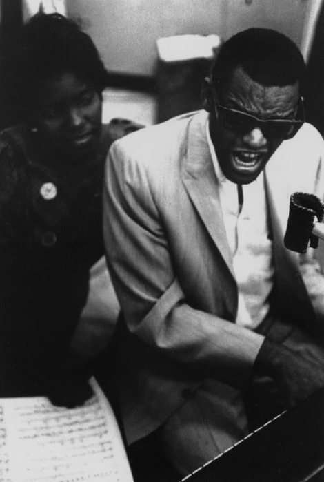 projectdom:  Ray Charles singing