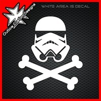 (DECAL) Star Wars - Stormtrooper Pirate from Outlaw Custom Designs Dead troopers tell no tales …