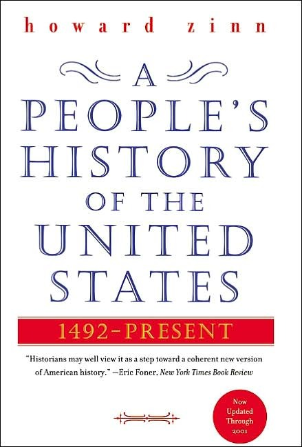 First published in 1980, A People's History of the United States has become a standard text.  It focuses heavily on how the major events in US history impacted minorities, women, and the poor.  Fast paced and conversational, A People's History of the United States is worth picking up if you don't think you got a good handle on US history in school or if an American history class is on your schedule for next year.  I also think it is worth reading for non-Americans.  Being an American can lead to some cultural myopia.  Our cultural output is seen worldwide, our internal politics are treated as globally important.  We don't always look outward as much as we should.  But on the flip side, I think there is a tendency for non-Americans to think they have a thorough understanding of US history from watching The West Wing.    A People's History of the United States is a good primer for those who are interested in US history, but haven't formally studied it.  It is widely available overseas (Spanish: La Otra Historia de los Estados Unidos , French: Une Histoire Populaire des Etats-Unis). A People's History of the United States on Amazon