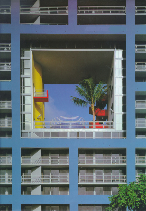 icancauseaconstellation:  The Atlantis, Miami, Florida, 1982 — Arquitectonica