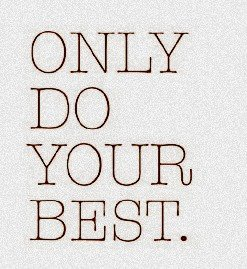 "‎""Only do your BEST. When we have done our very best, we may still experience disappointments, but we will not be disappointed in ourselves."" - Sister Julie Beck"