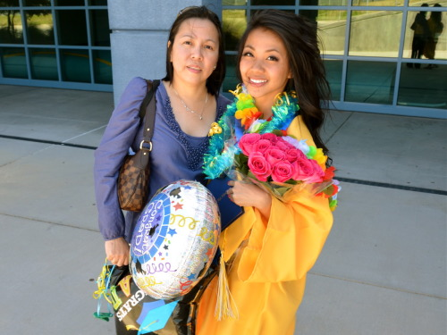 Finalllllllly graduated! w/ Mama Madrid.