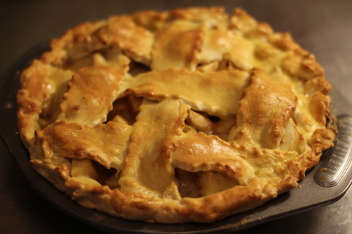 dulce de leche lattise apple pie