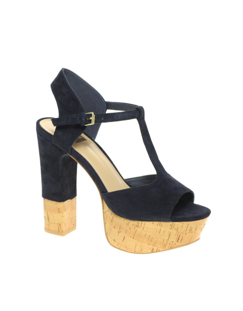 Dolce Vita Baxter Platform Cork Heeled SandalsMore photos & another fashion brands: bit.ly/JgQdQK