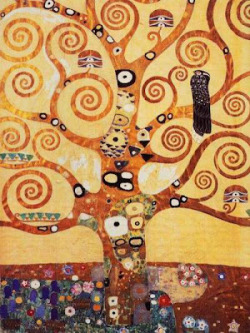 Gustav Klimt/ The tree of life, 1909/