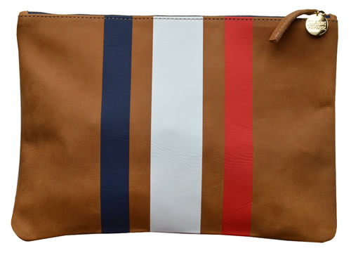 U.S.A.! U.S.A.! Psyched I've held out on the Clare Vivier clutch thus far… I think this is the