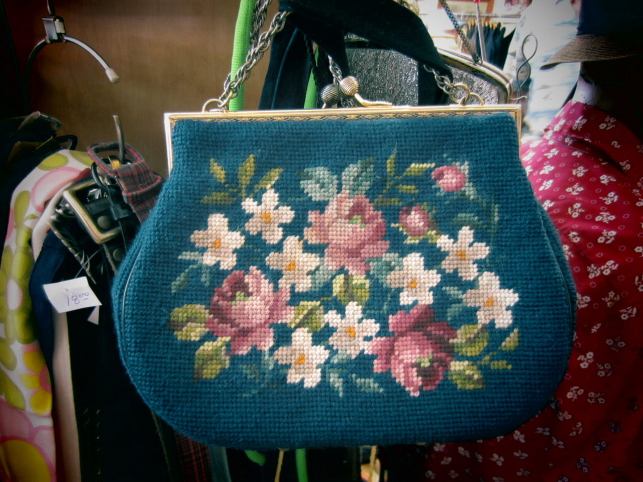 holy mother of vintage floral carpetbags!