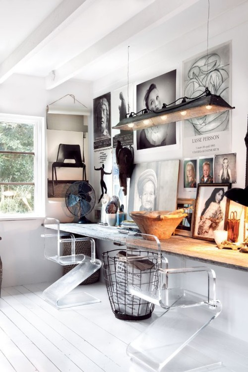 Home Office Home office belongs to decorator Marie Olsson Nylander.