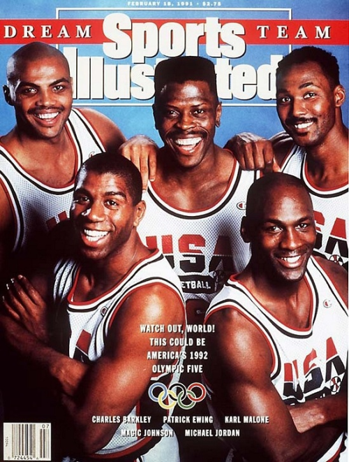 "peelawaythetoplayer:  Can't wait for ""The Dream Team"" documentary. Premieres Wednesday, June 13th at 9pm. Definitely DVR worthy."