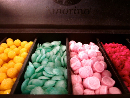 Italian candies at Amorino Gelato, Greenwich Village, NYC