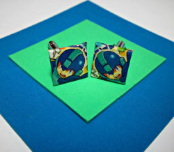 Mega Man Cufflinks.